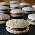 Mini Desserts, Delicious Desserts, Nutella Biscuits, Algerian Recipes, Cake Recipes, Dessert Recipes, Thermomix Desserts, Biscuit Cookies, Relleno