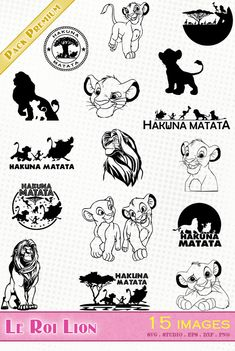Discover recipes, home ideas, style inspiration and other ideas to try. Silhouette Lion, Silhouette Tattoos, Silhouette Portrait, Silhouette Studio, Simba E Nala, Lion King Simba, Lion King Images, Lion King Pictures, Silhouettes Disney