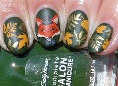 #glamnailschallengesept Fox