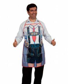 Oktoberfest Party Idea Apron Bavarian Waiter