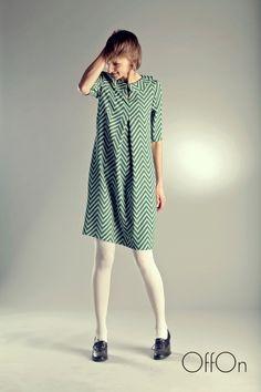 "Handmade  dress ""Spruce"".. €59.00, via Etsy."