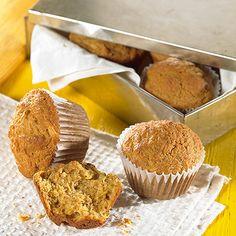 Muffins à la courge spaghetti Courge Spaghetti, Spaghetti Squash, Muffins Sains, Pie Cake, Healthy Muffins, Cupcake Cookies, Cupcakes, Biscuits, Granola
