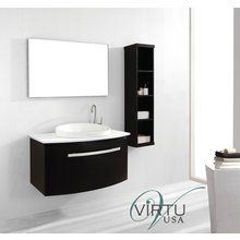 "View the Virtu USA ES-1040 Anabelle 40"" Bathroom Vanity Cabinet - Includes Countertop, One Sink and Mirror at Build.com."