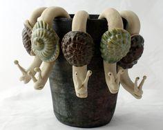 Keramik Schnecken