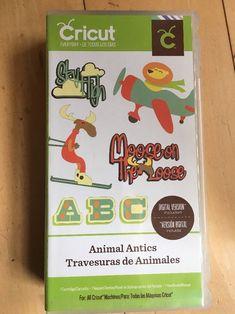 Cricut Circle Exclusive Cartridge Animal Antics Rare Provo Craft  | eBay