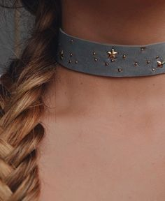 STARRY EYED CHOKER // #LILICLASPE Photo Jewelry, Jewelry Art, Beaded Jewelry, Silver Accessories, 1 Piece, Custom Jewelry, Chokers, Choker Necklaces, Jewelery