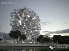 The White Tree Mixed-Use Tower In Montpellier, France by Sou Fujimoto - GoWritter Japanese Architecture, Amazing Architecture, Modern Architecture, Sou Fujimoto, Montpellier, Biology Art, Tower Building, Tower Design, Rio De Janeiro