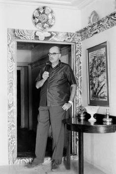 HYDRA - Songs and Tales of Bohemia - James Burke - George Johnston-Leonard Cohen on Hydra. October 1960. Life Magazine. [Painter Nikos Hadjikyriakos Ghikas]