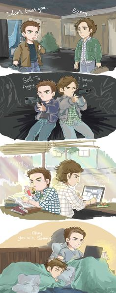All sins will be forgiven by SilasSamle on DeviantArt Supernatural Fandom, Quotes Supernatural, Supernatural Cartoon, Supernatural Drawings, Sherlock Quotes, Sherlock John, Sherlock Holmes, Supernatural Crossover, Supernatural Bloopers