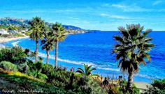 Laguna Beach, California (Fractalius Treatment)
