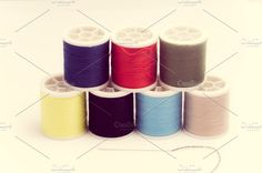 sewing threads. Beauty & Fashion Photos