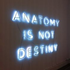 """Anatomy is not destiny"" Linder exhibition 'Femme/Objet' at the MAM in Paris, spring 2013."