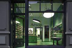 Aesop signature store by Weiss–heiten, Berlin – Germany