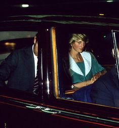Princess Diana and Charles 20th July 1983, arrive at London's Dominion Theatre to attend the Duran Duran Concert in aid of the Prince's Trust..
