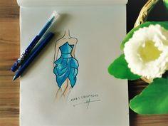 Princess Dress Drawing - YouTube