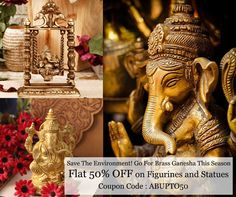 Unbelievable Offer this Ganesh Chaturthi http://www.artbugs.in/home-decor/Figurines-And-Statue
