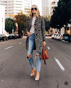 """Amy Jackson // Fashion Jackson on Instagram: """"The PERFECT leopard coat for fall and it's currently on sale! Sharing more favorites today on Fashion Jackson 🖤 get the details via…"""""""