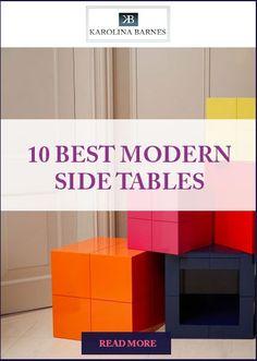10 best #modern side tables for your #livingroom and #bedroom