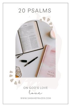 God loves you and these Scripture promises will help you remember how much! Use these Psalms on God's love to help you cling to hope in hard times and rejoice in God's faithfulness. || Sarah E. Frazer