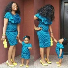 Beautiful Ankara Styles For Mother And Daughter Stylish mother and daughter matching ankara styles, beautiful ankara gown styles for mother and daughter Ankara Styles For Kids, African Dresses For Kids, Trendy Ankara Styles, Ankara Gown Styles, African Kids, Beautiful Ankara Gowns, Beautiful Ankara Styles, African Attire, African Wear