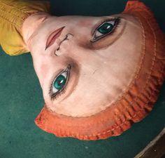 Another doll taking shape. #clothdoll #artdoll #handmade #paintedface #dollartist