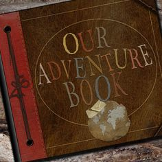 "so cute for married couples to have their own adventure book just like in the movie ""Up!"""