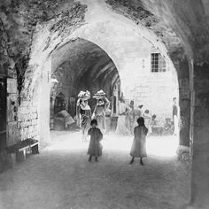 Jerusalem Street 1941 - Eastern Images