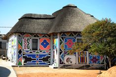 I recently stumbled into learning about how Ndebele people decorate their homes - aren't the patterns just totally incredible? From Wikipedia: In the 18th Century the Ndzundza Ndebele people of South...