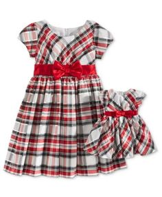 9d81dea4a Bonnie Jean Sister Holiday Plaid Dresses, Toddler & Little (2T-6X), & Big  Girls (7-16) & Reviews - Sets & Outfits - Kids - Macy's