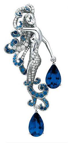 Van Cleef & Arpels Mermaid Brooch