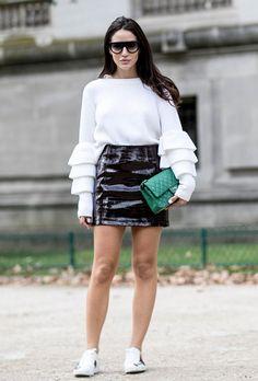 Best of Street Style From Paris Fashion Week – Vogure