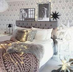 Cozy chic #bedroom #decorating inspiration