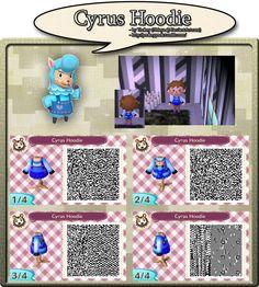 Cyrus Hoodie - QR Code by Nelaya on deviantART