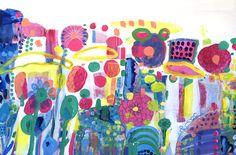 Living a Large Colourful Life Textile Design, Print Patterns, Textiles, Paintings, Artist, Prints, Life, Inspiration, Color