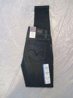 Levis 535 Jean Legging Ultra Low Rise Super Skinny Color Inked 119970022 Junior…