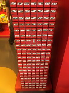 Someone at the LEGO store is a monster