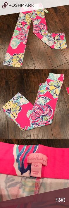 Lilly Pulitzer Swept Tides Georgia May Palazzo Brand new with tags. Lilly Pulitzer brand. Swept by the Tides pattern. Georgia May style. Size XXS & L. Originally $138. Please ask all questions before purchasing 🌺❤️ Lilly Pulitzer Pants Wide Leg