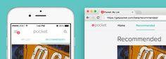 Pocket - What's engaged most over what's new - recommendation channel to help inspire users to save.