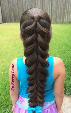 Cool braid for special occasion or a childs just cause day