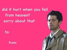 Supernatural Valentine's Day Cards - Album on Imgur