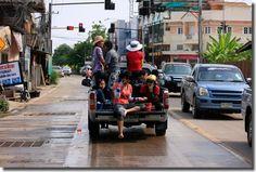 Songkran Festival in Thailand...water gun fights!