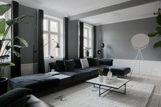 From the iconic Daybed to the grand Modular Sofa, all HANDVÄRK seating objects are meticulously designed in Denmark and characterized by aesthetic sustainability: a timeless object in a quality last a lifetime. Danish Furniture, Furniture Design, Copenhagen Apartment, Modular Sofa, Daybed, Dark Grey, Couch, Table, January