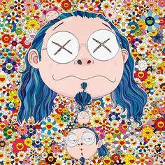 Takahashi Murakami self portrait.
