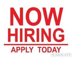 Job Opportunity For Dependent Visa Holders Only
