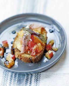 Bruschetta sardines fraîches et tomates ananas pour 4 personnes - Recettes Elle à Table