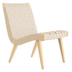 Risom Lounge Chair Without Arms