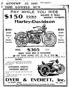 Mabel-a motorcycle girl - Looking for Mabel Normand - Auto 2019 Harley Davidson Signs, Harley Davidson Helmets, Vintage Harley Davidson, Harley Davidson Motorcycles, Triumph Motorcycles, Vintage Advertisements, Vintage Ads, Vintage Bikes, Vintage Posters