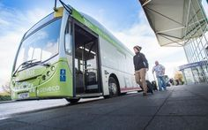 Poop-powered bus takes to English roads