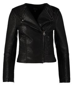 Topshop AMBER C'LESS BUBBLE - Giacca in fintapelle - black - Zalando.it