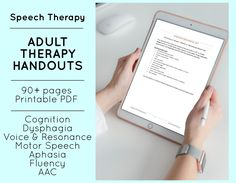 Speech Language Pathology, Speech And Language, Body Language, Cognitive Therapy, Aphasia Therapy, Occupational Therapy, Memory Strategies, Voice Therapy, Speech Therapy Activities